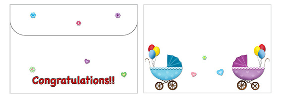 Printable Baby Envelopes 10
