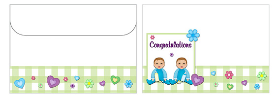 Printable Baby Envelopes 11