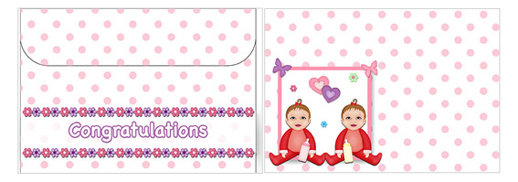 Printable Baby Envelopes 12