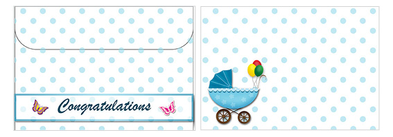 Printable Baby Envelopes 03