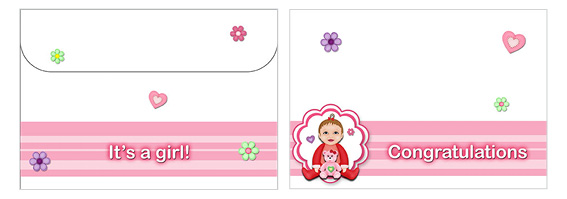 Printable Baby Envelopes 05