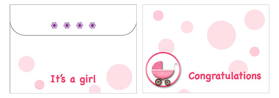 Printable Baby Envelopes 06