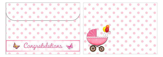 Printable Baby Envelopes 07