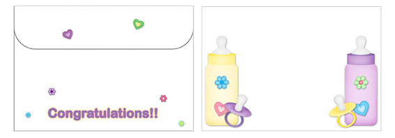 Printable Baby Envelopes 09