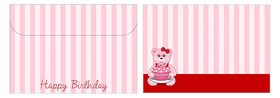 Printable Birthday Envelopes 06