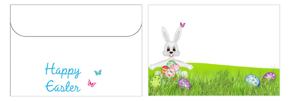 Printable Easter Envelopes 01