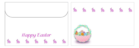 Printable Easter Envelopes 02