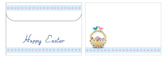 Printable Easter Envelopes 06