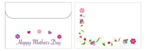Printable Mother's Day Envelope 02