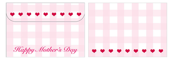 Printable Mother's Day Envelope 04