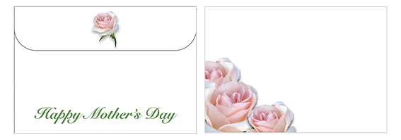 Printable Mother's Day Envelope 05