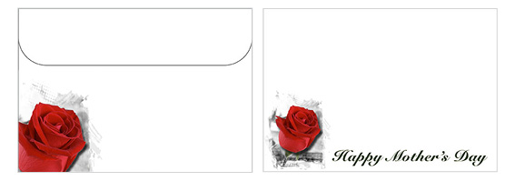 Printable Mother's Day Envelope 06