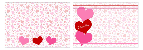 Printable Valentine's Day Envelope 14