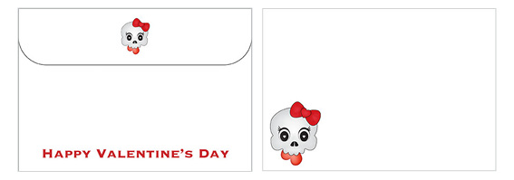 Printable Valentine's Day Envelope 17