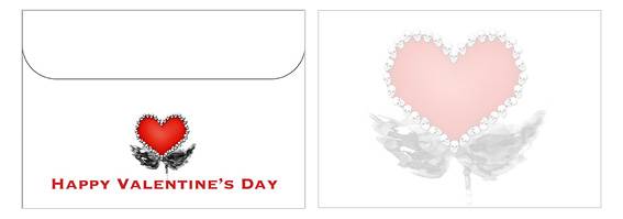Printable Valentine's Day Envelope 18