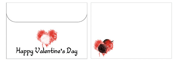 Printable Valentine's Day Envelope 19