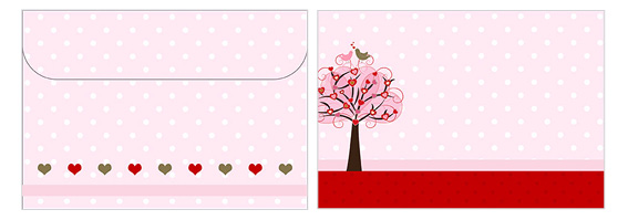 Printable Valentine's Day Envelope 03