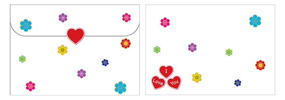 Printable Valentine's Day Envelope 05