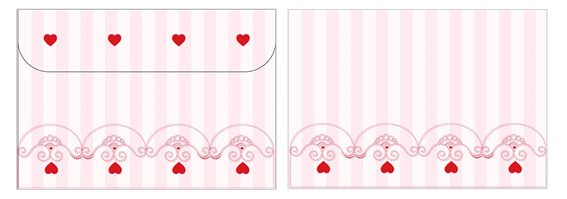 Printable Valentine's Day Envelope 07