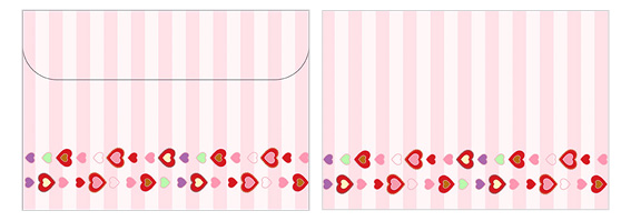 Printable Valentine's Day Envelope 08