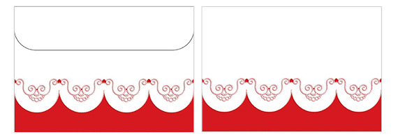 Printable Valentine's Day Envelope 09