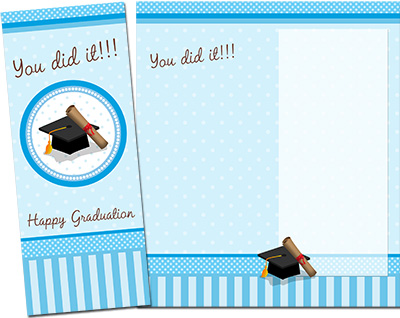 Graduation Greeting Card 001