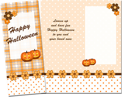 Halloween Greeting Card 001