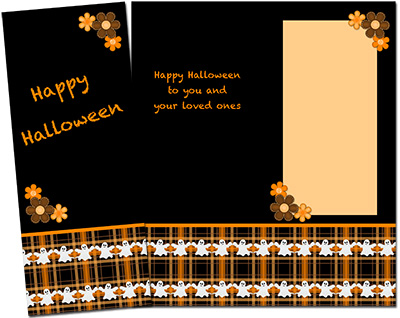 Halloween Greeting Card 002