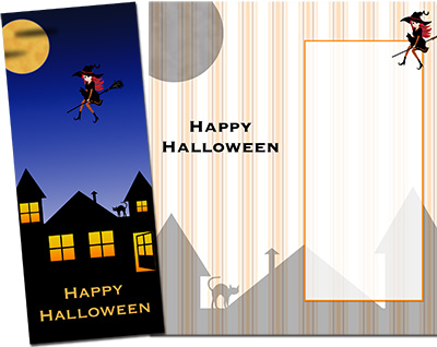 Halloween Greeting Card 003