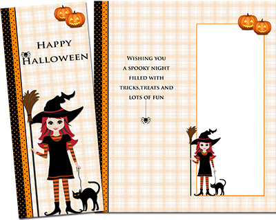 Halloween Greeting Card 004