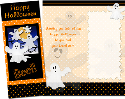 Halloween Greeting Card 005