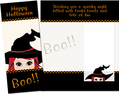 Halloween Greeting Card 007