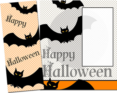Halloween Greeting Card 010