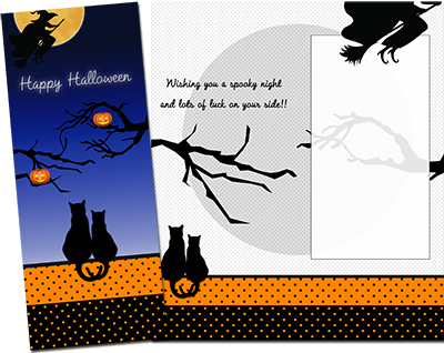 Halloween Greeting Card 011