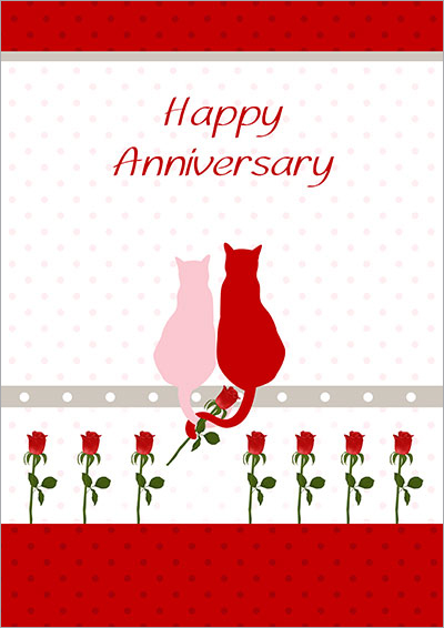 Dynamic image pertaining to printable anniversary cards
