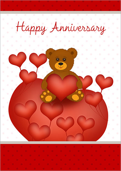 photo regarding Free Printable Anniversary Cards for Him identified as Free of charge Printable Anniversary Playing cards