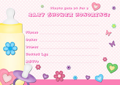 my printable invitations categories printable baby shower invitations