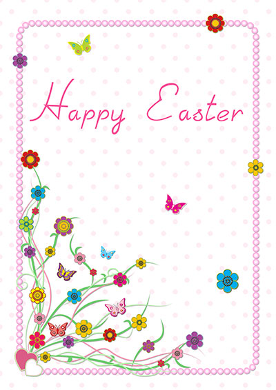 Printable Easter Cards 011