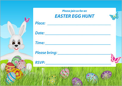 Sprint Time!! Egg Hunt Invite 001
