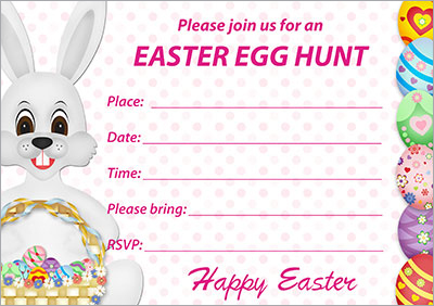 Easter Egg Hunt Invitation 004