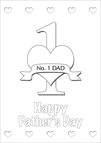 photo regarding Printable Fathers Day Cards to Color named Printable Fathers Working day Playing cards