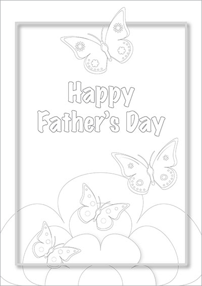 Happy Father's Day Butterflies 007