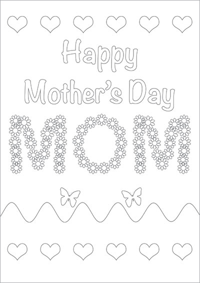 HAppy Mother's Day Mom Color 001