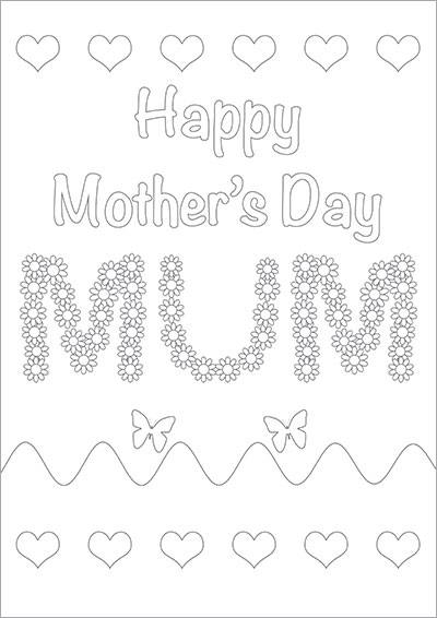 Happy Mother's Day Mum Color 002