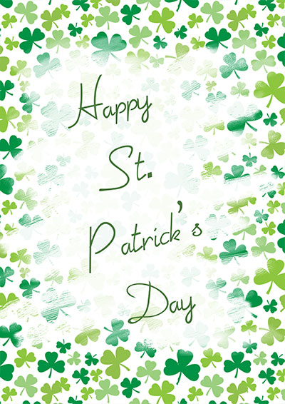 St. Patrick's Day Cards 003