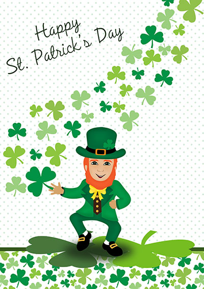 St. Patrick's Day Cards 005