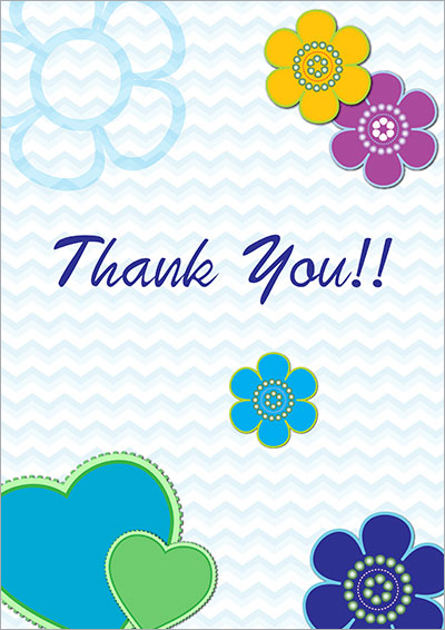 Free Printable Thank You Cards 008