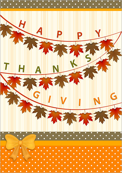 Happy Thanksgiving Card 007