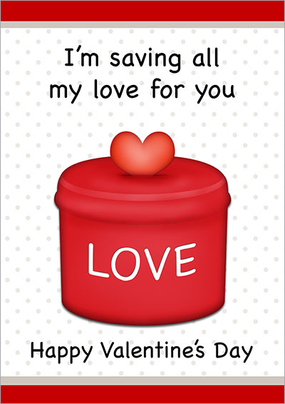Saving All My Love For You Card 001