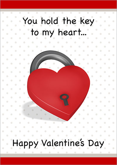 You Hold The Key To May Heart Card 006